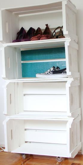 estante de sapatos