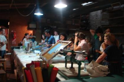 Aula de Serigrafia