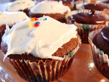 CupCakes topping vanilla
