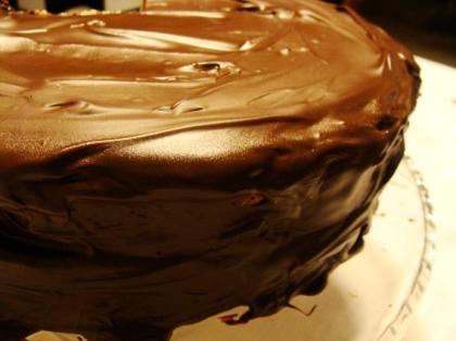 Bolo de Chocolate e Doce de Leite