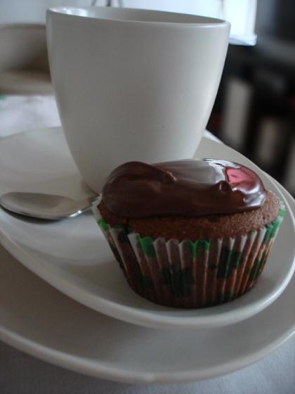 café com cupcake