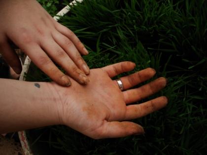Mãos de Jardineira