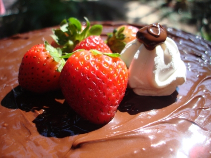 morango suspiro chocolate