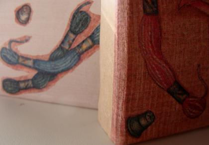 Caixinha de Madeira com técnica de Decoupage com guardanapo