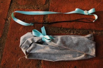 Tiaras feitas com fita